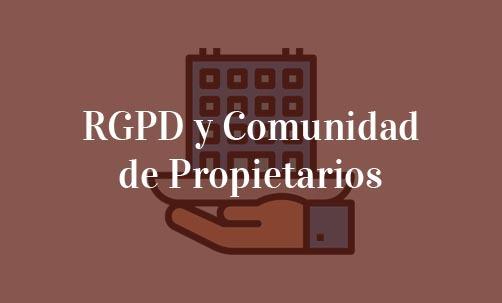 La aplicación del RGPD en las comunidades de vecinos